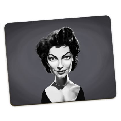 Ava Gardner Celebrity Caricature Placemats