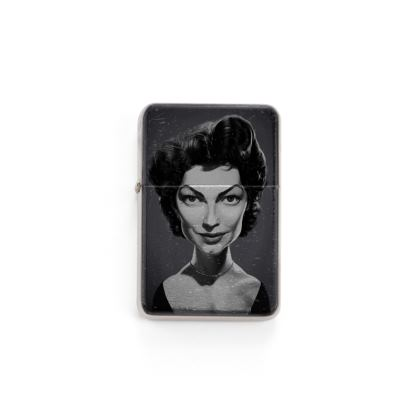 Ava Gardner Celebrity Caricature Lighter