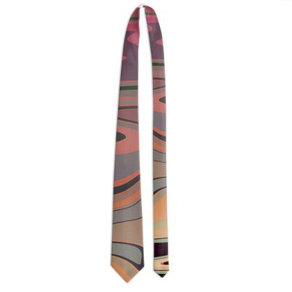 Tie - Marble Rainbow 3