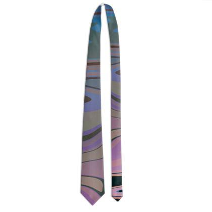 Tie - Marble Rainbow 5