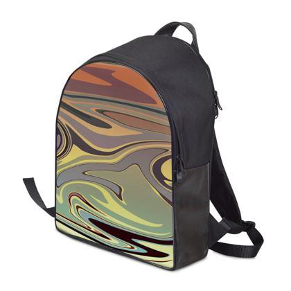 Backpack - Marble Rainbow 1