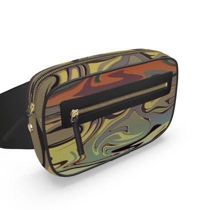 Belt Bag - Marble Rainbow 1