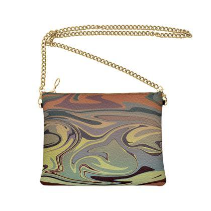 Crossbody Bag - Marble Rainbow 1