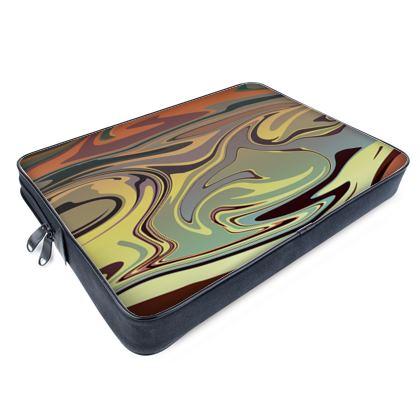 Laptop Bags - Marble Rainbow 1