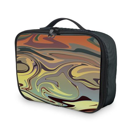 Lunch Bags - Marble Rainbow 1