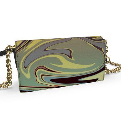 Oana Evening Bag - Marble Rainbow 1