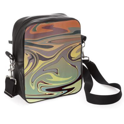 Shoulder Bag - Marble Rainbow 1