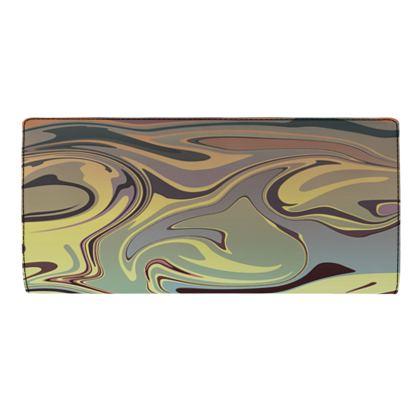 Travel Wallet - Marble Rainbow 1