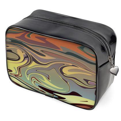 Wash Bags - Marble Rainbow 1