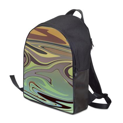 Backpack - Marble Rainbow 2