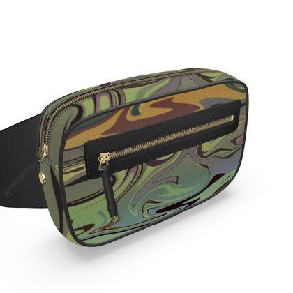 Belt Bag - Marble Rainbow 2