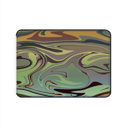 Card Holder - Marble Rainbow 2