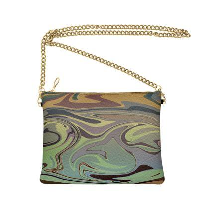 Crossbody Bag - Marble Rainbow 2