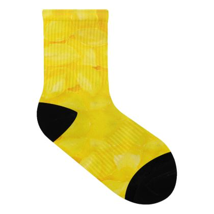Zesty Lemon Socks
