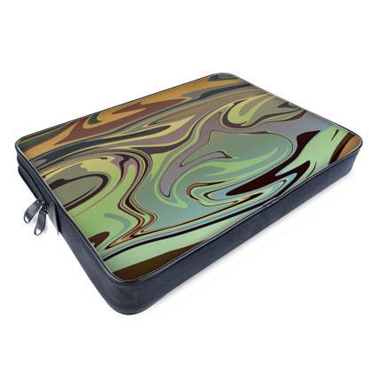 Laptop Bags - Marble Rainbow 2