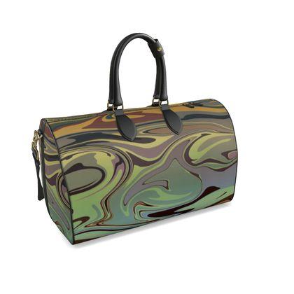 Large Duffle Bag - Marble Rainbow 2