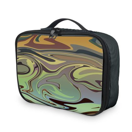 Lunch Bags - Marble Rainbow 2