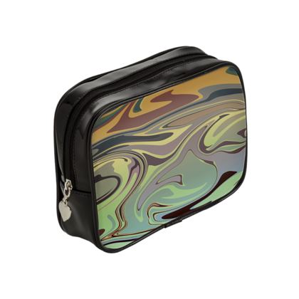 Make Up Bags - Marble Rainbow 2