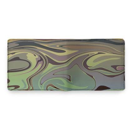 Mens Wallet - Marble Rainbow 2