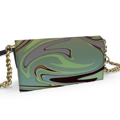Oana Evening Bag - Marble Rainbow 2
