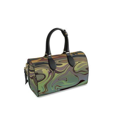Small Duffle Bag - Marble Rainbow 2