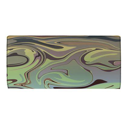 Travel Wallet - Marble Rainbow 2