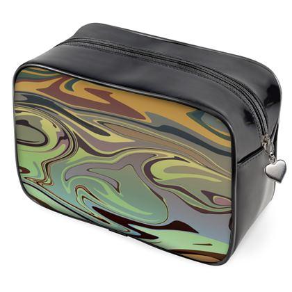 Wash Bags - Marble Rainbow 2