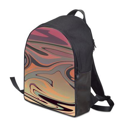 Backpack - Marble Rainbow 3