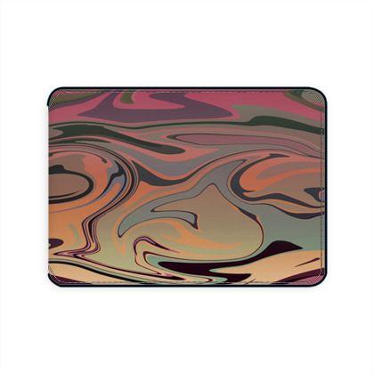 Card Holder - Marble Rainbow 3
