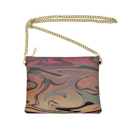 Crossbody Bag - Marble Rainbow 3