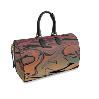 Large Duffle Bag - Marble Rainbow 3