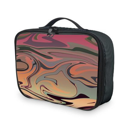Lunch Bags - Marble Rainbow 3