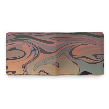 Mens Wallet - Marble Rainbow 3