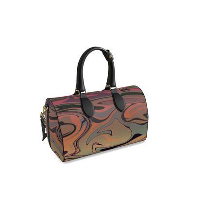 Small Duffle Bag - Marble Rainbow 3