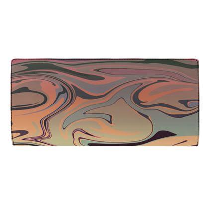 Travel Wallet - Marble Rainbow 3