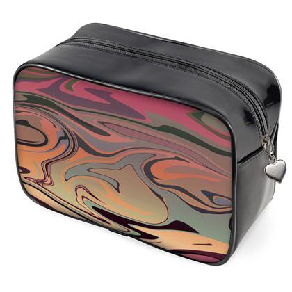 Wash Bags - Marble Rainbow 3
