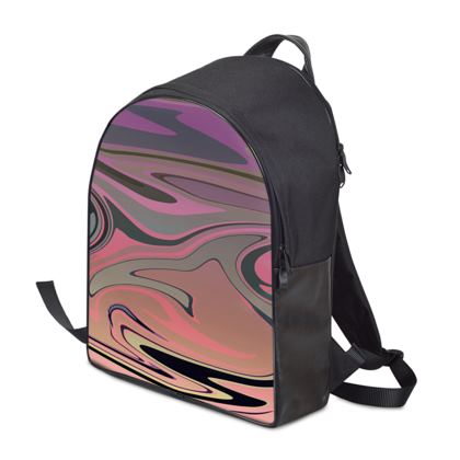 Backpack - Marble Rainbow 4