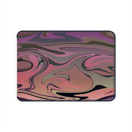 Card Holder - Marble Rainbow 4