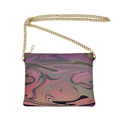 Crossbody Bag - Marble Rainbow 4