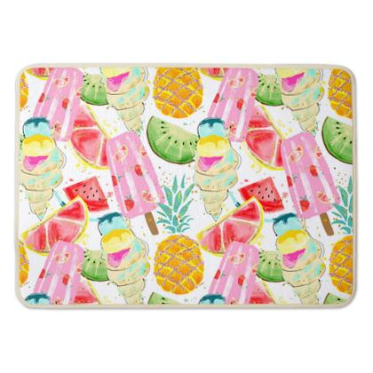 icecream bath mat