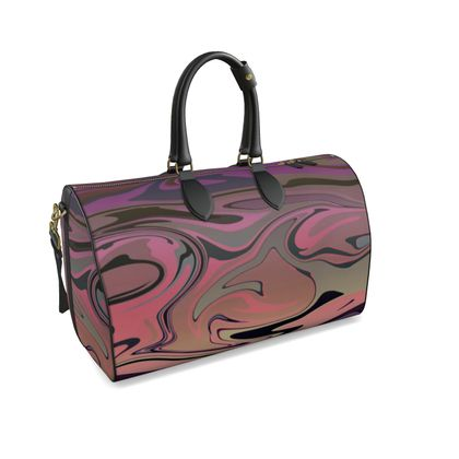 Large Duffle Bag - Marble Rainbow 4