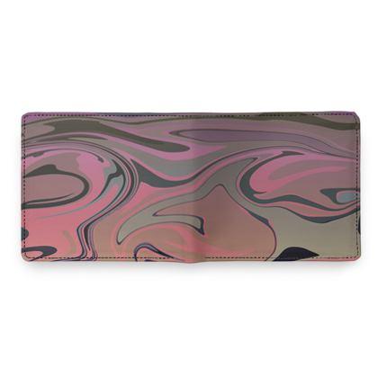 Mens Wallet - Marble Rainbow 4