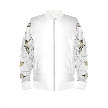 Ladies bomber jacket its all good