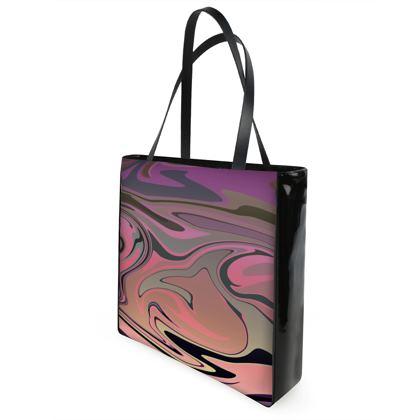 Shopper Bags - Marble Rainbow 4