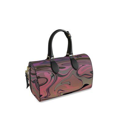 Small Duffle Bag - Marble Rainbow 4