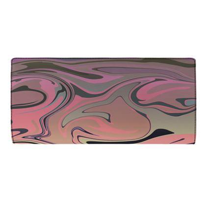 Travel Wallet - Marble Rainbow 4