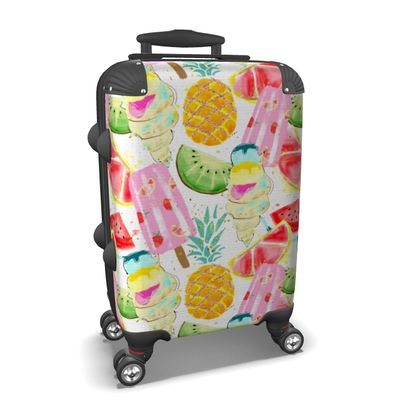 icecream suitcase