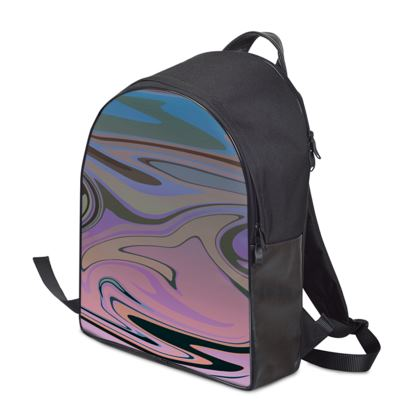 Backpack - Marble Rainbow 5