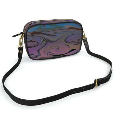 Camera Bag - Marble Rainbow 5