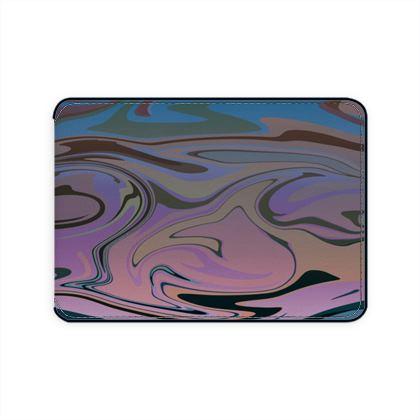 Card Holder - Marble Rainbow 5